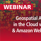 Geospatial Analytics in the Cloud with ENVI and Amazon Web Services | Recorded Webinar