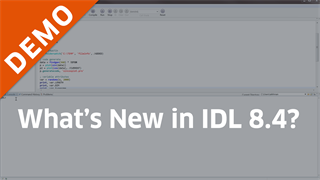 What's New in IDL 8.4?