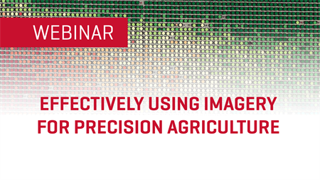 Effectively Using Imagery for Precision Agriculture