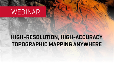 Topographic Mapping Anywhere | WEBINAR