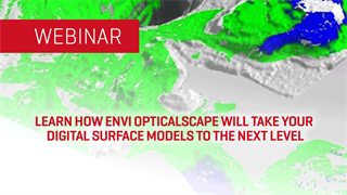 Learn How ENVI Opticalscape Will Take Your Digital Surface Models to the Next Level