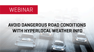 Avoid Dangerous Road Conditions with Hyperlocal Weather Info