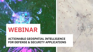 Turn Geospatial Imagery and Data into Timely, Accurate and Actionable Intelligence for Defense and Security Applications