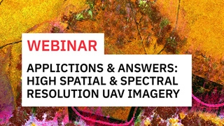 Applications and Answers with High Spatial and Spectral Resolution UAV Imagery
