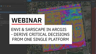 ENVI and SARscape in ArcGIS - Add Advanced Imagery Analytics to Derive Business Critical Decisions from One Single GIS Platform