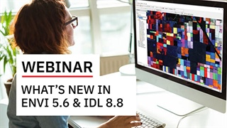 What's New in ENVI 5.6 and IDL 8.8
