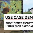 Monitoring Subsidence Using ENVI SARscape
