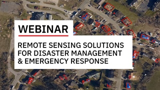 Remote Sensing Solutions for Emergency Response