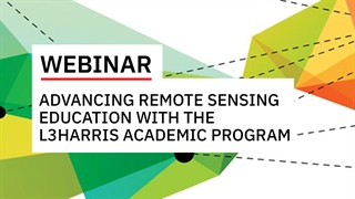 Advancing Remote Sensing Education with the L3Harris Academic Program