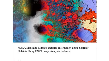 Mapping & Extracting Detailed Information about Sea Floor Habitats Using ENVI: A NOAA Case Study