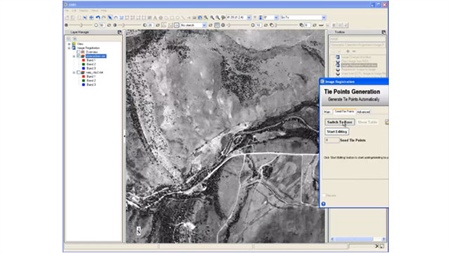 Using ENVI Software to Georegister Historic Aerial Photography
