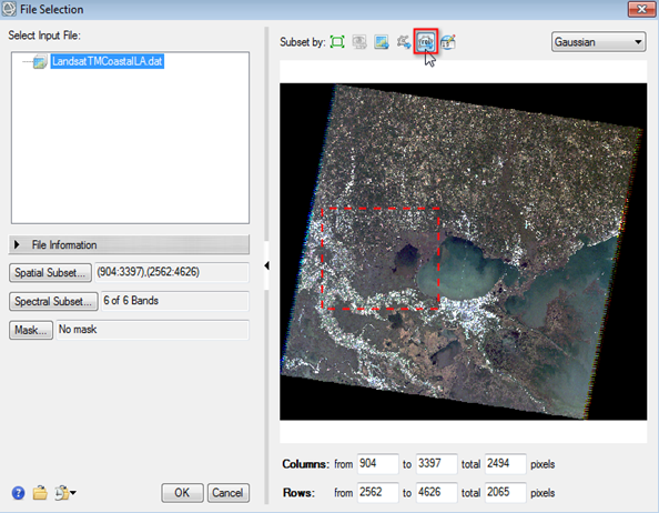 Can I Subset an Image Using a Shapefile? - L3Harris
