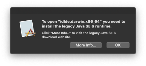 Java runtime for mac
