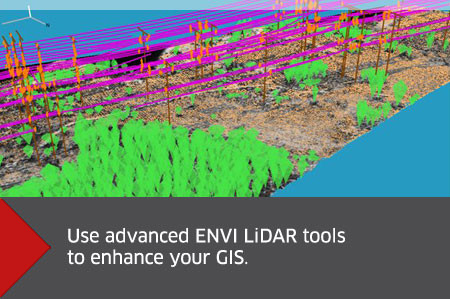 ENVI LiDAR for ArcGIS