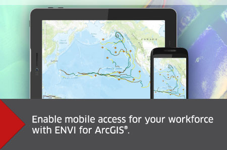 ENVI for ArcGIS Mobile