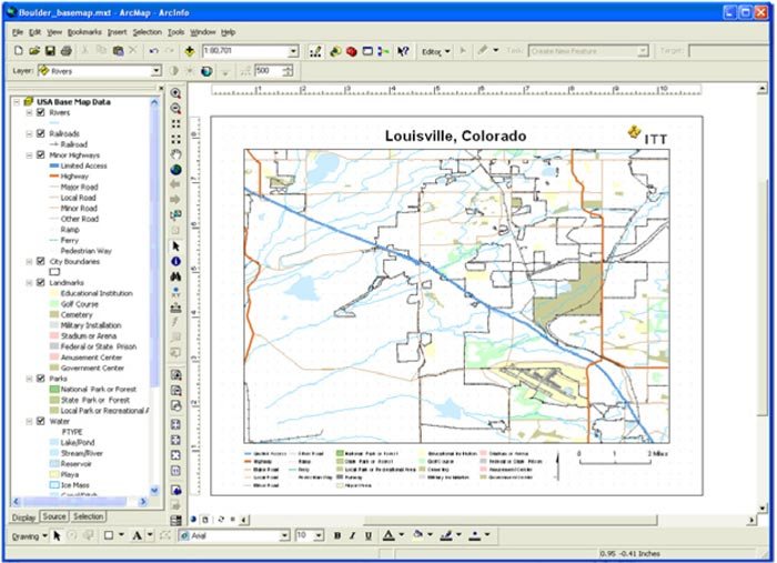 Using ENVI and Geographic Information Systems (GIS